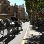 Desfile carruajes