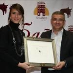 Conchi Rios mejor novillera ex aequo con Antonio Puerta feria taurina 2011
