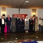 Foto de familia premiados. Gala 2011