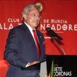 Presidente Club Taurino de Murcia. Gala 2011